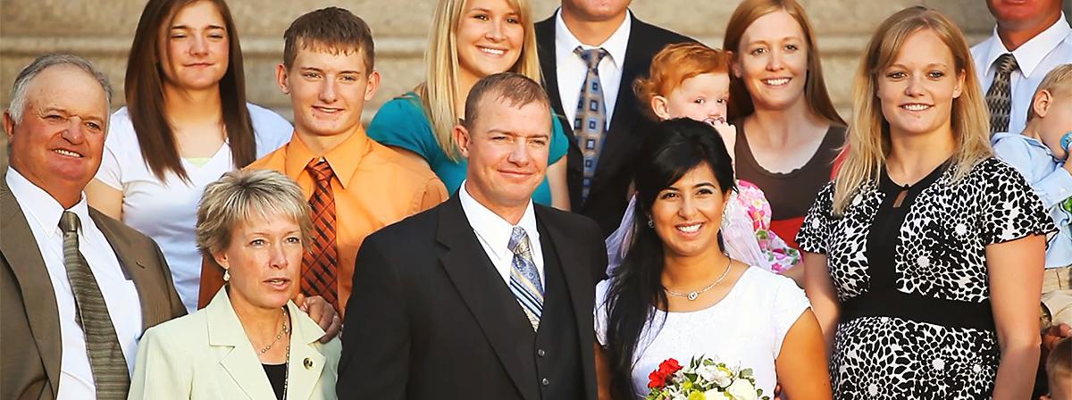 O familie fericită