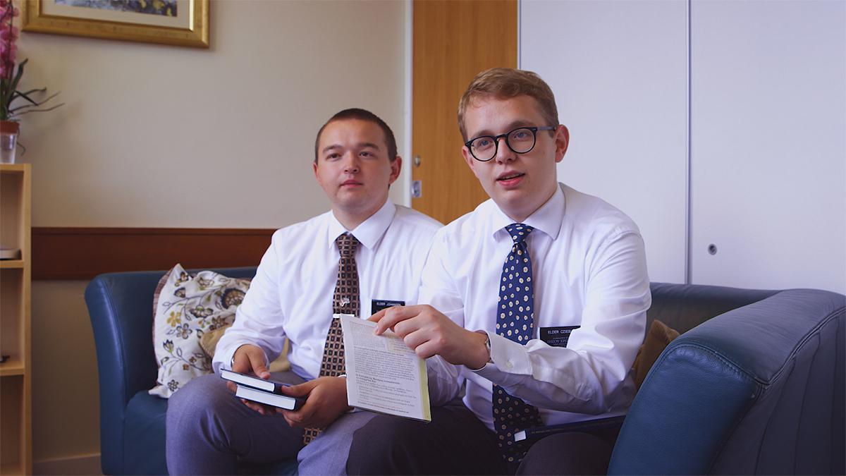 Het opleidingscentrum voor zendelingen in Engeland
