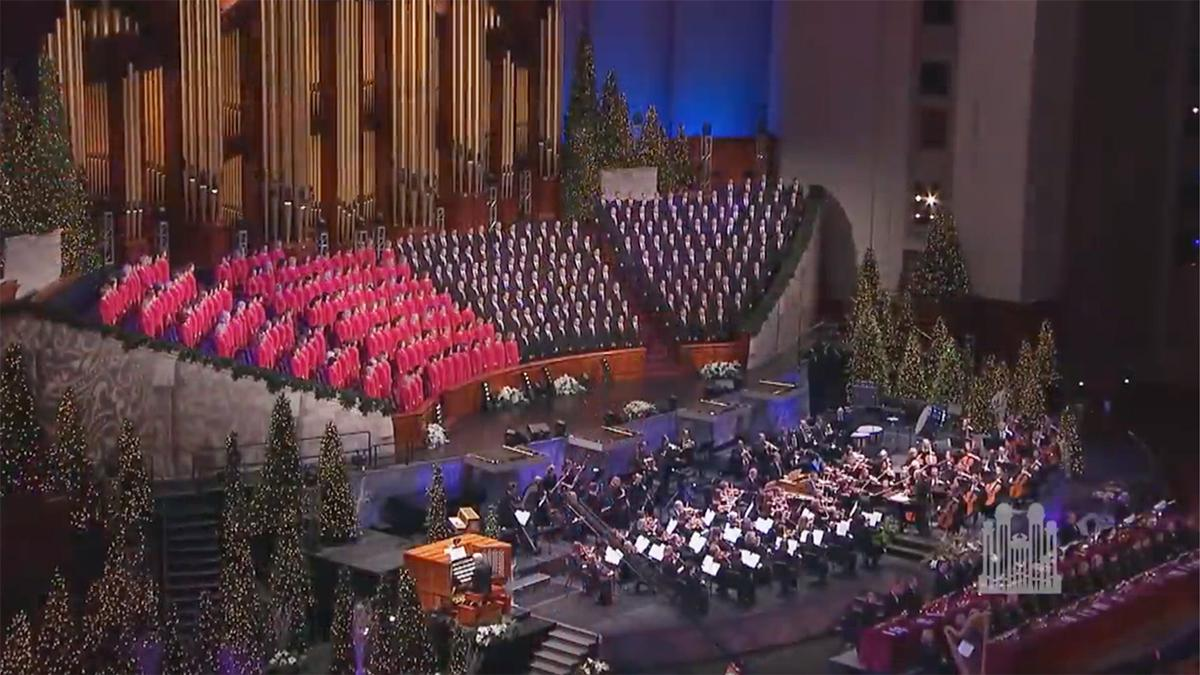 The Tabernacle Choir dhe Orchestra at Temple Square