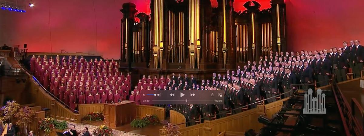 Zbor The Tabernacle Choir at Temple Square i orkestar Orchestra at Temple Square