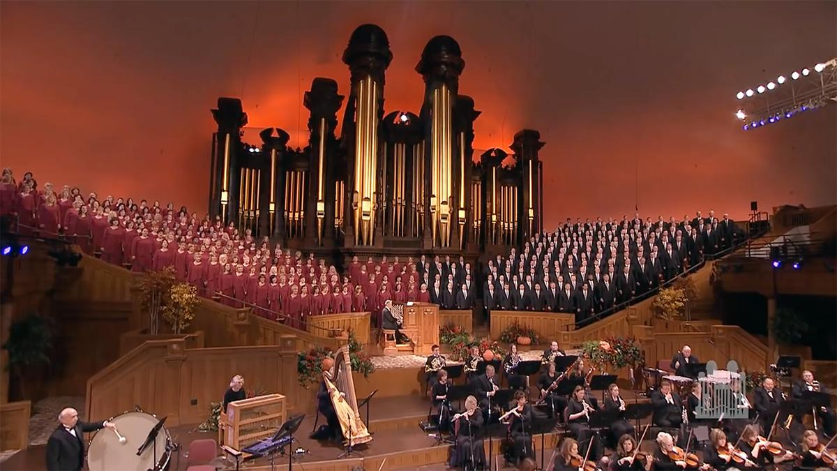 Chór Tabernakulum i Orkiestra z Placu Świątynnego