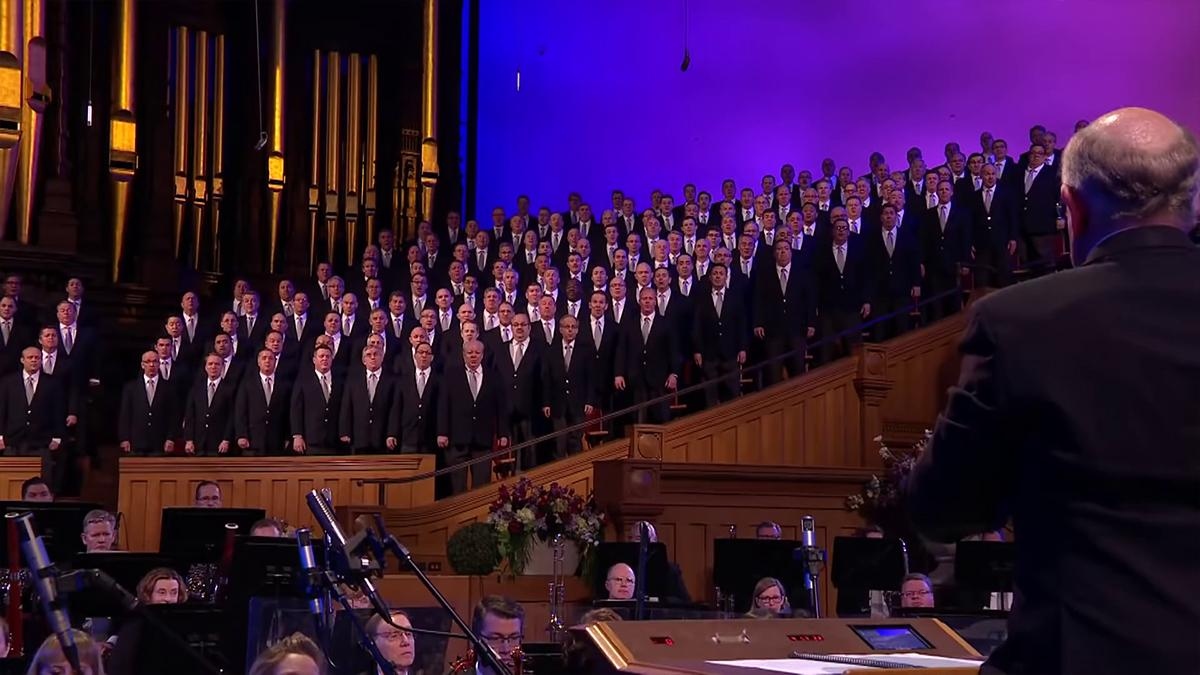 Zbor The Tabernacle Choir i orkestar Orchestra at Temple Square