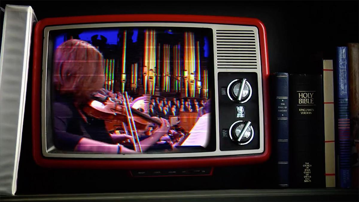The Tabernacle Choir and Orchestra at Temple Square vintagetelevisiossa