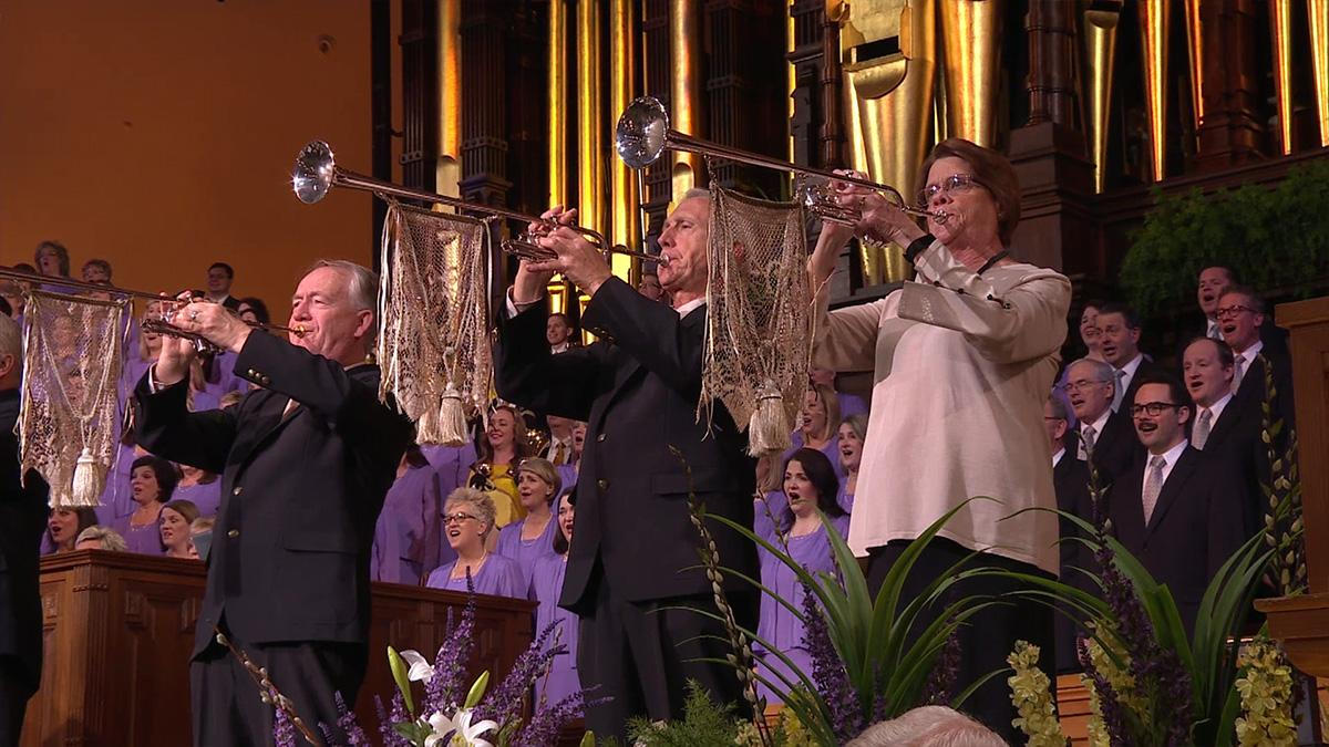 The Tabernacle Choir en het Orchestra at Temple Square