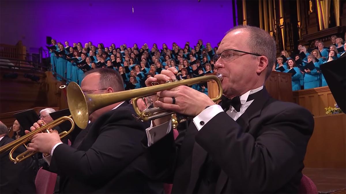 Um trompetista