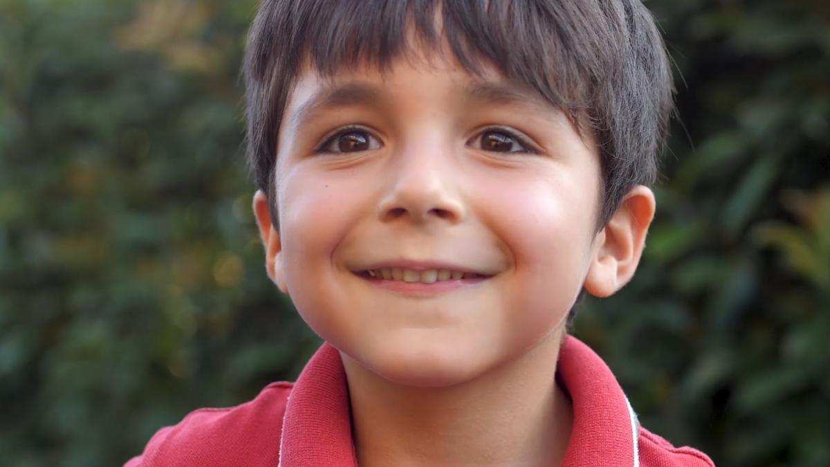Лице срећног детета