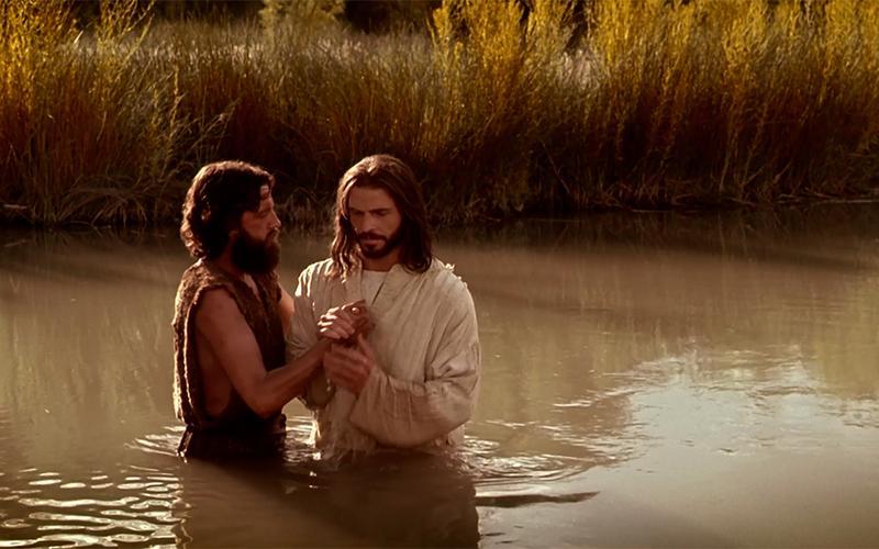 El bautismo de Jesucristo