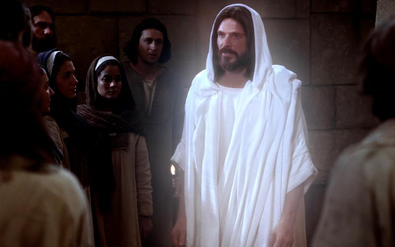 El Cristo resucitado habla a Sus seguidores