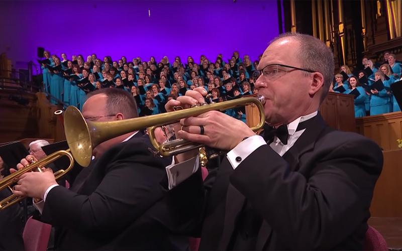 un trombettista