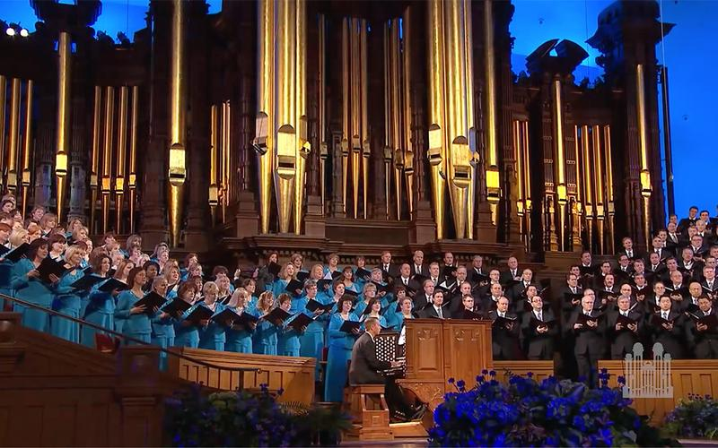 The Tabernacle Choir and Orchestra at Temple Square