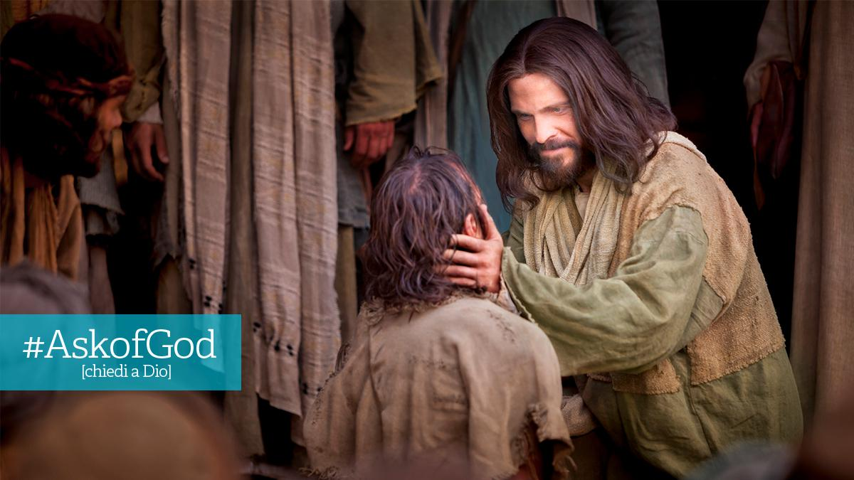 Gesù Cristo insieme alla gente