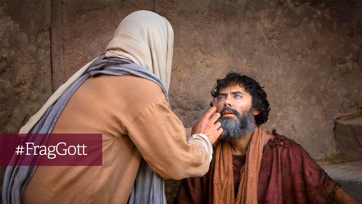 Jesus liebt uns trotz unserer Schwächen und Fehler