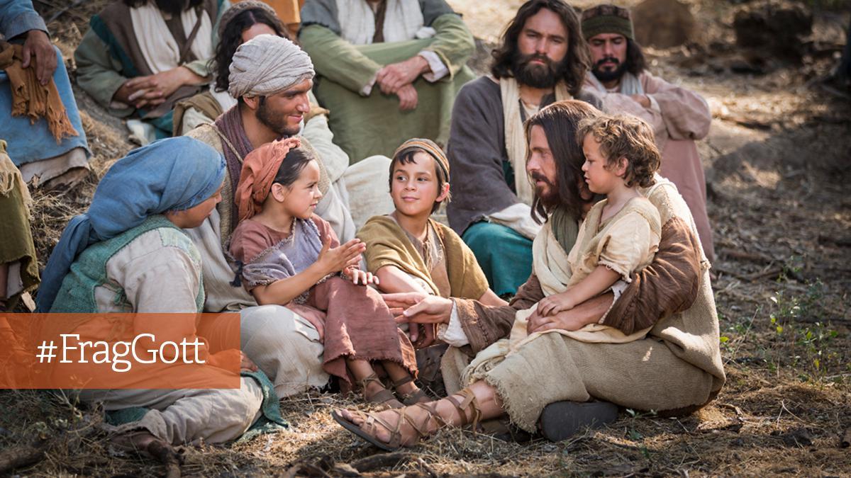 Frag Gott: Werde ich von Gott geliebt?