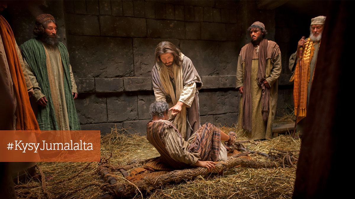 Jeesus Parantaa Sairaan