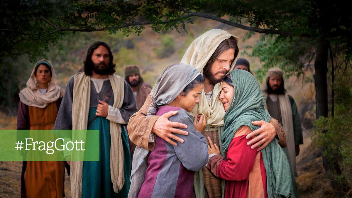 Jesus tröstet die Verzweifelten