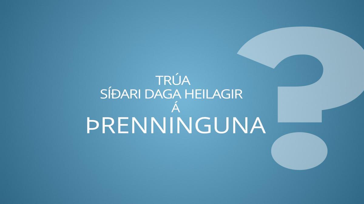 Trúa Síðari daga heilagir á Þrenninguna?