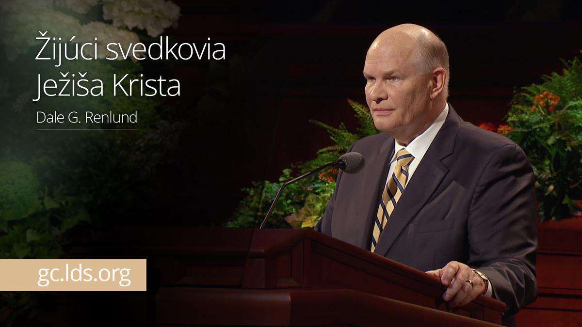 Žijúci svedkovia Ježiša Krista – Starší Renlund