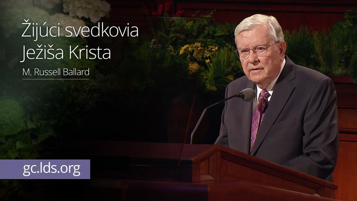 Žijúci svedkovia Ježiša Krista – Starší Ballard