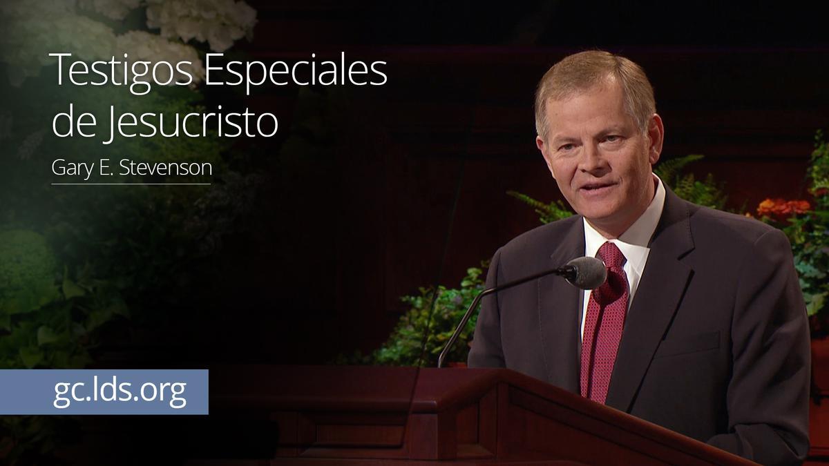 Testigos Especiales de Jesucristo – Élder Stevenson