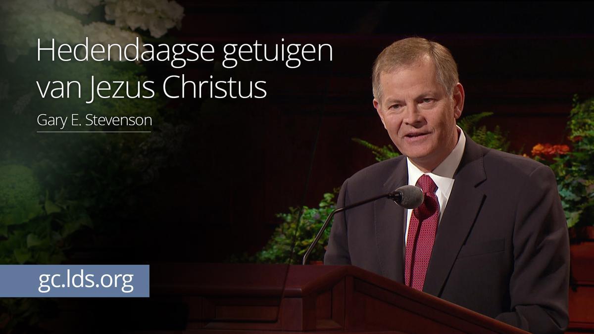 Hedendaagse getuigen van Jezus Christus – ouderling Stevenson