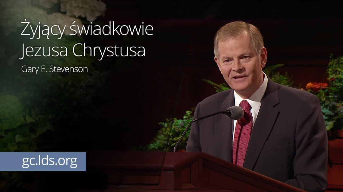Żyjący świadkowie Jezusa Chrystusa – Starszy Stevenson
