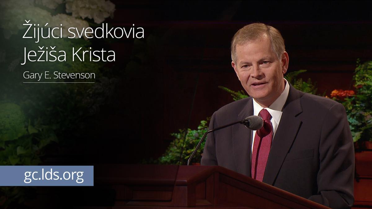 Žijúci svedkovia Ježiša Krista – Starší Stevenson
