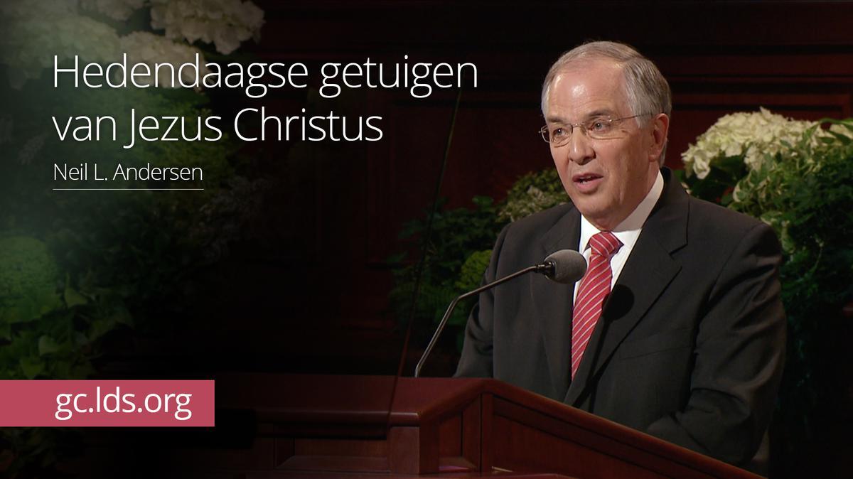 Hedendaagse getuigen van Jezus Christus – ouderling Andersen