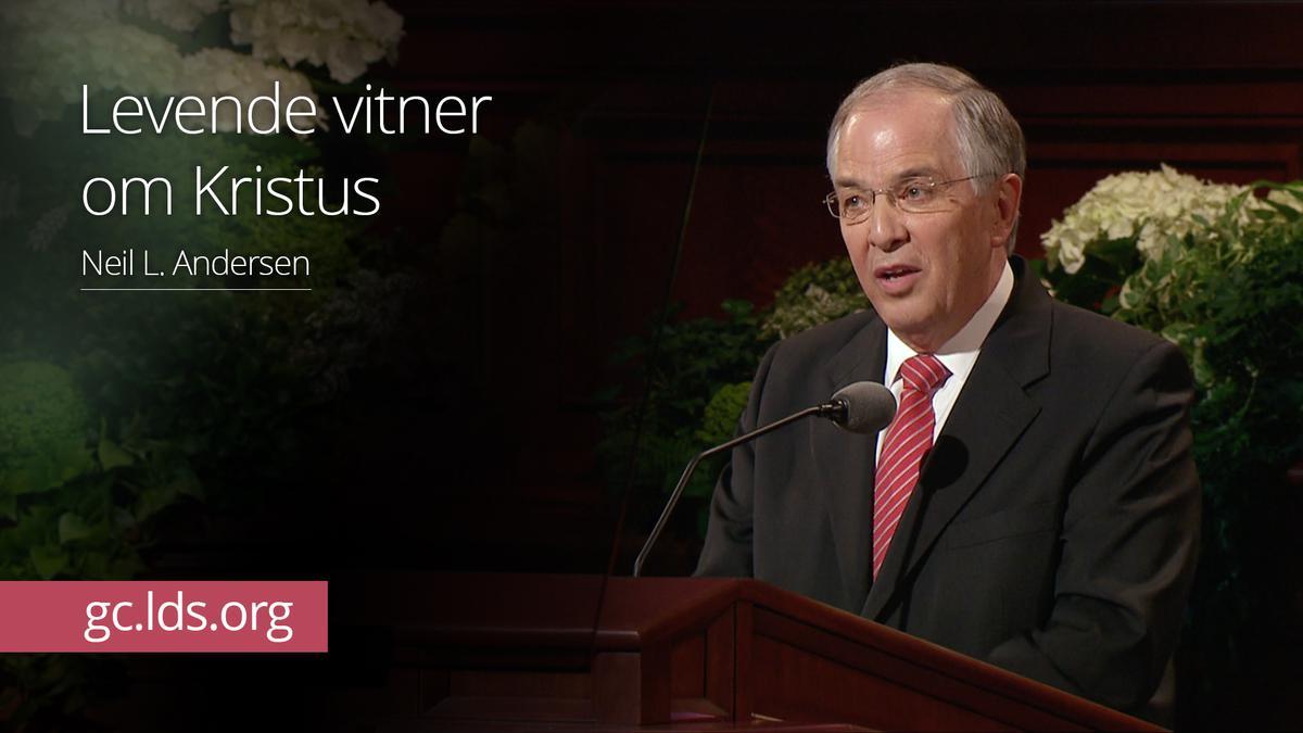 Levende vitner om Kristus –  Eldste Andersen