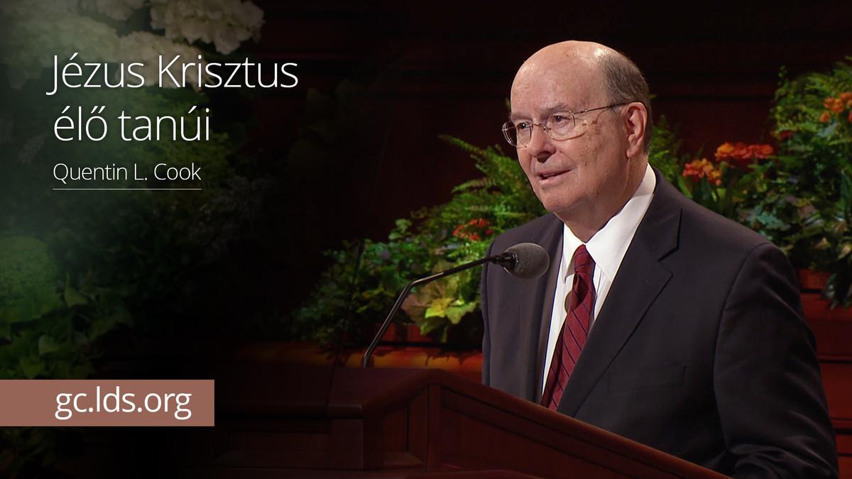Jézus Krisztus élő tanúi – Cook elder