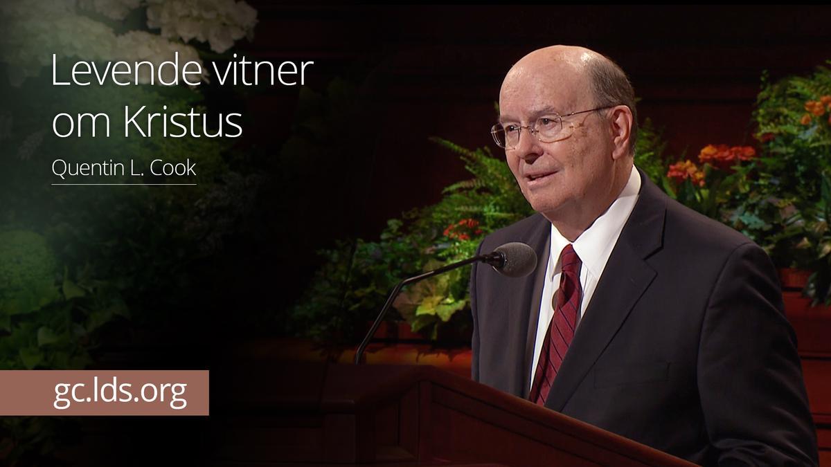 Levende vitner om Kristus –  Eldste Cook