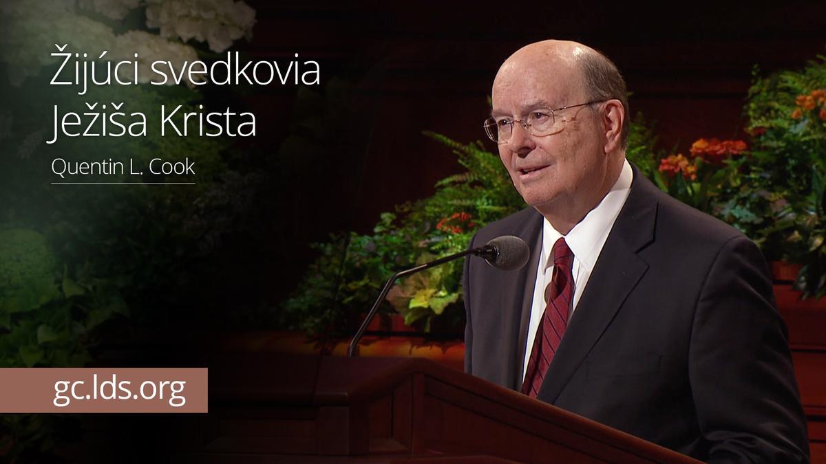 Žijúci svedkovia Ježiša Krista – Starší Cook
