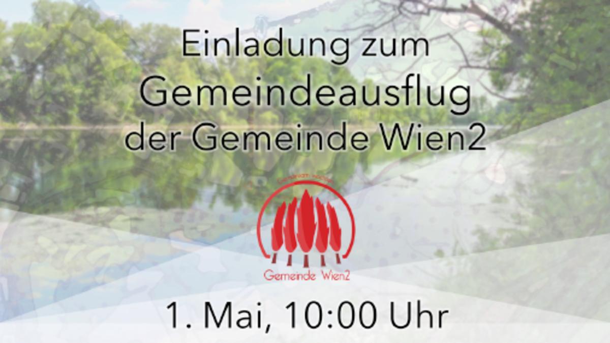 Gemeindeausflug der Gemeinde Wien2 am 1. Mai
