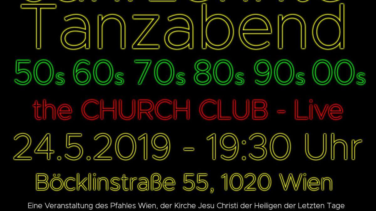 Die Band Church Club spielt Musiktitel der letzten 7 Jahrzehnte für alle Altersgruppen