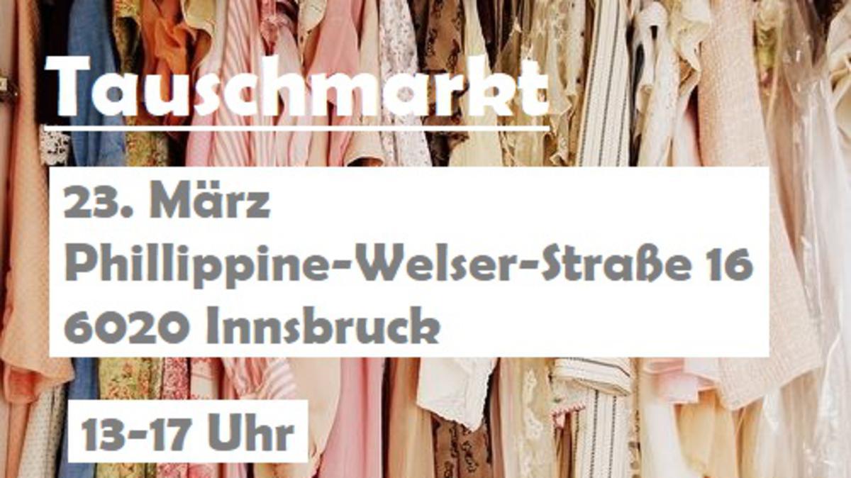 Einladung zum Tauschmarkt Innsbruck