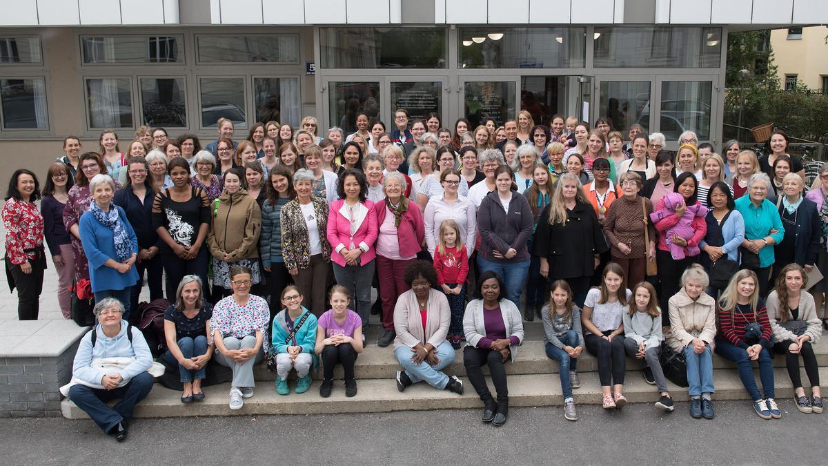 Teilnehmerinnen am Wiener Schwesterntag 2019