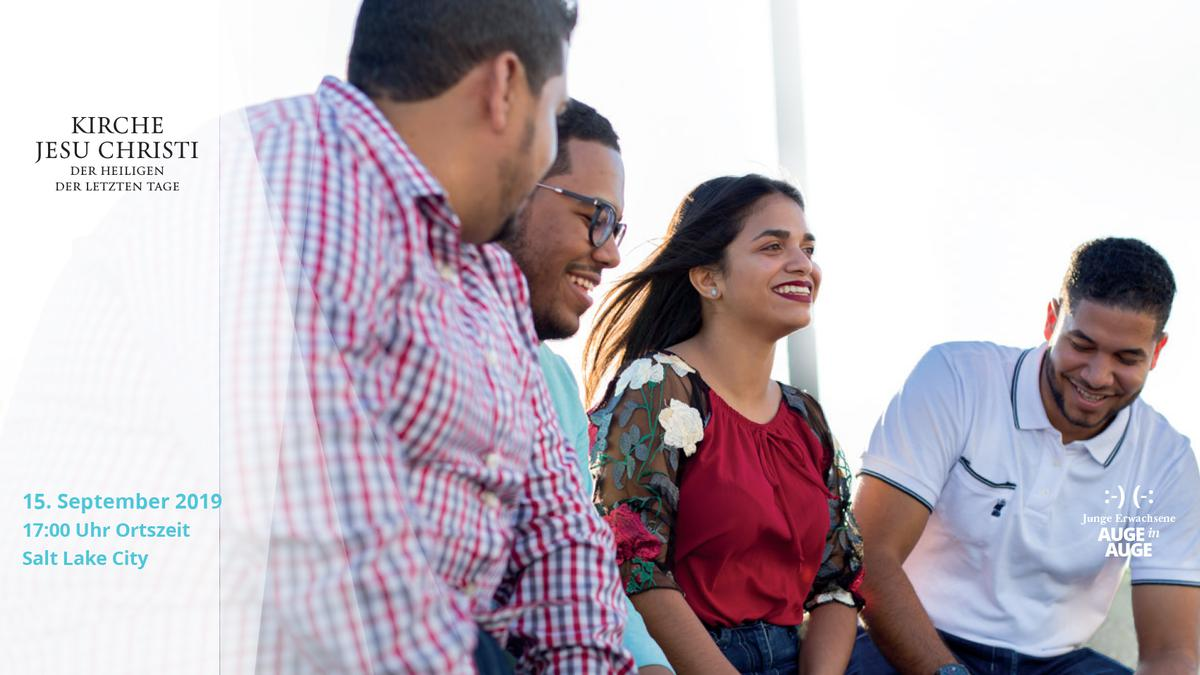 Andacht für junge Erwachsene mit Elder Ulisses Soares und Elder Craig C. Christensen