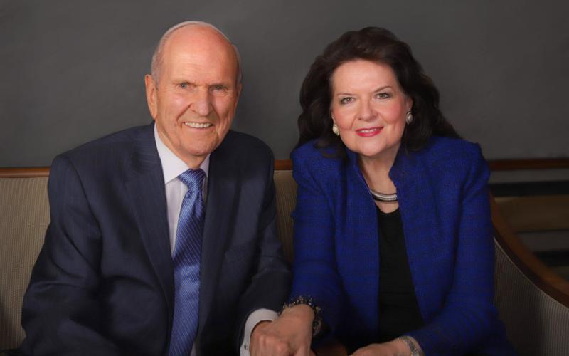 Präsident Russell M. Nelson und seine Frau Wendy