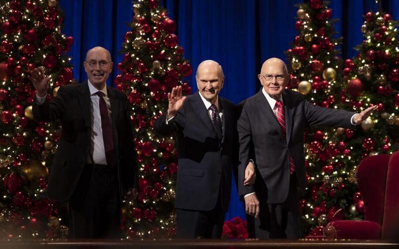 Weihnachtsandacht der Ersten Präsidentschaft 2020