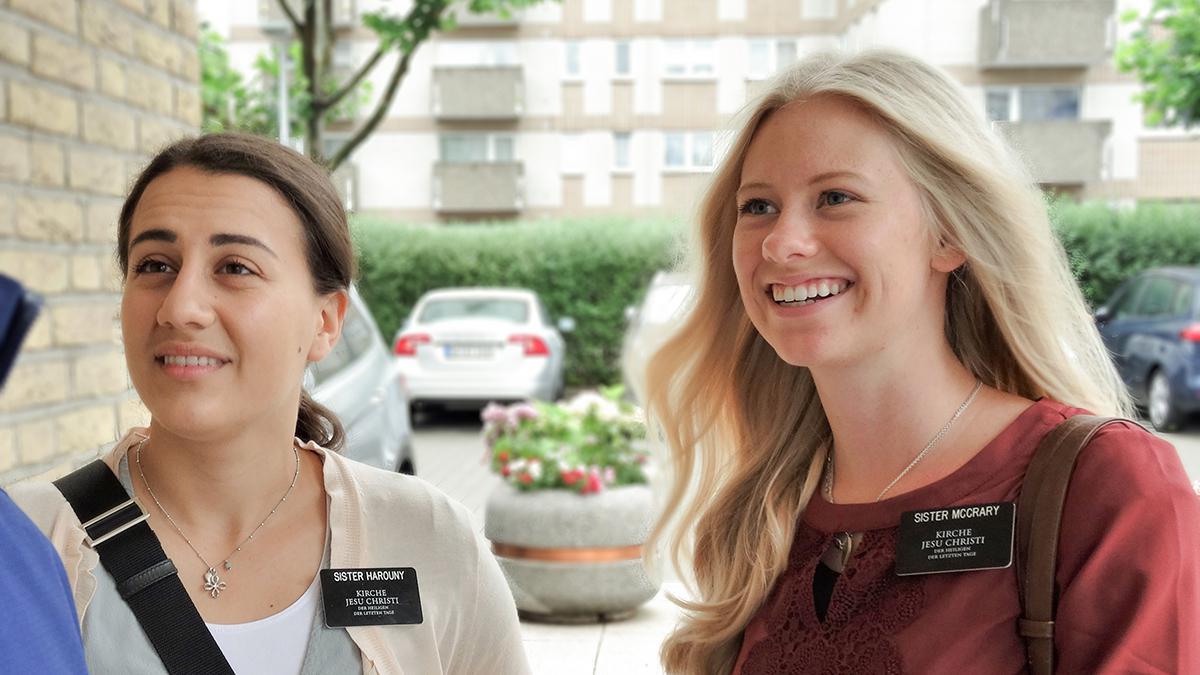 Missionarinnen in Frankfurt