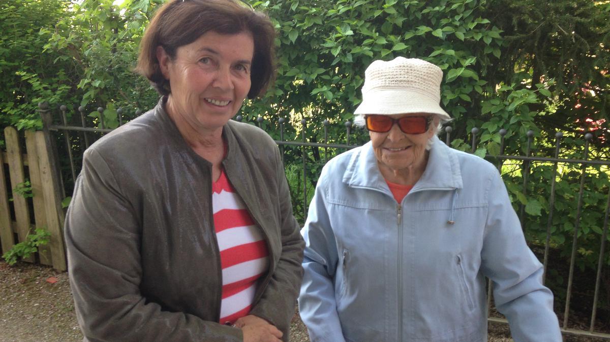 Besuchslehren mit Sr. Christine Thalhammer 2016