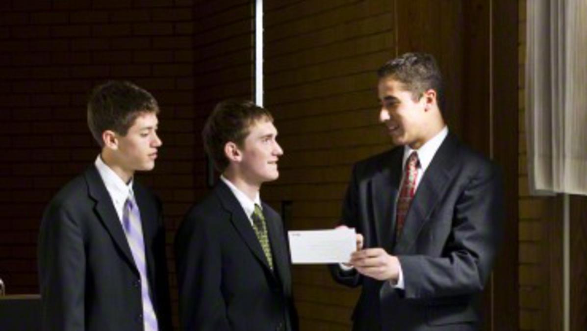 Priestertumsträger bei den Mormonen