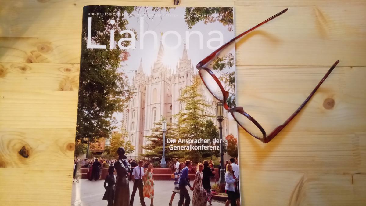 Liahona, Herbst-Generalkonferenz 2018