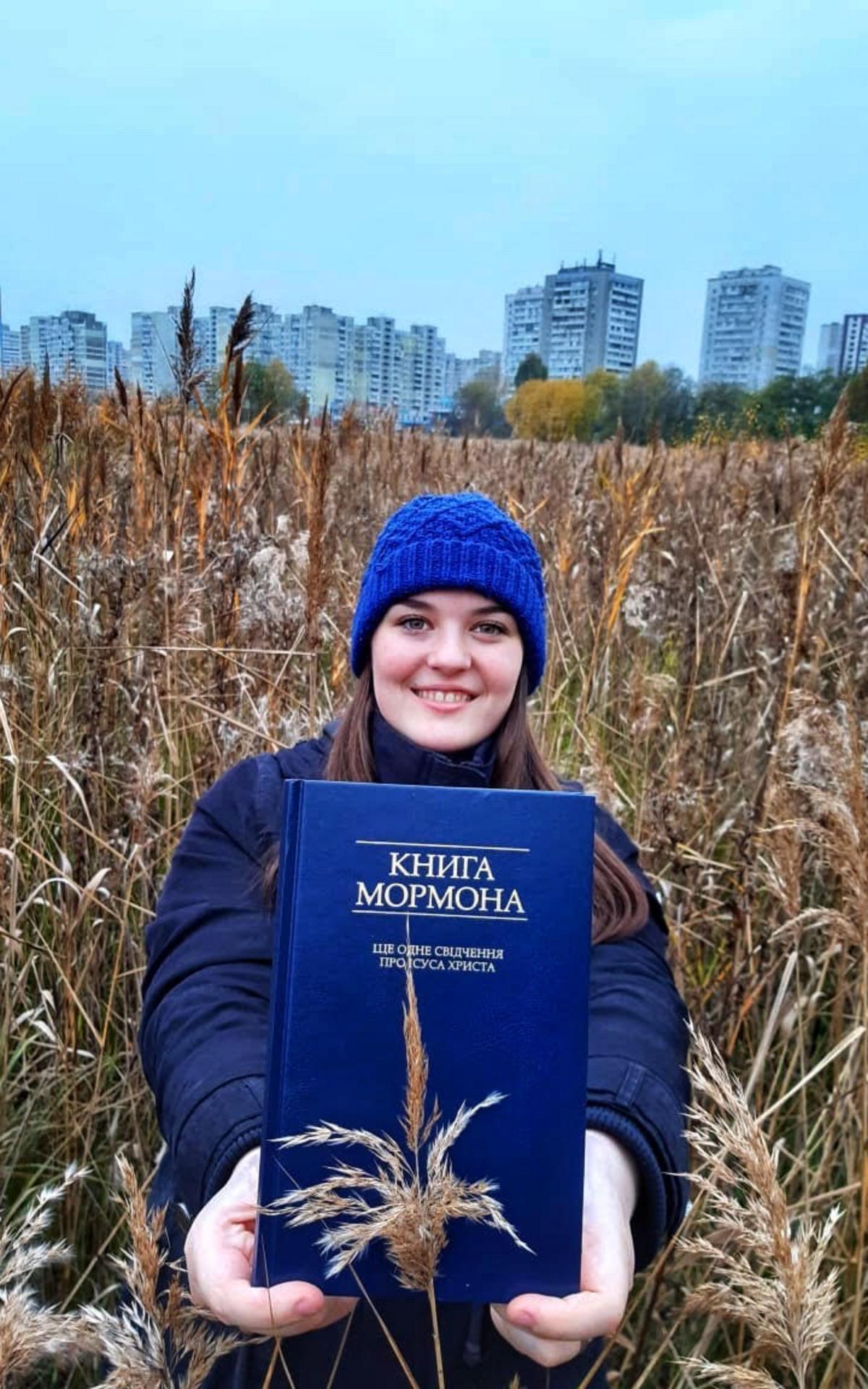 Schwester Dzierzon begeisterte Missionarin in der Ukraine