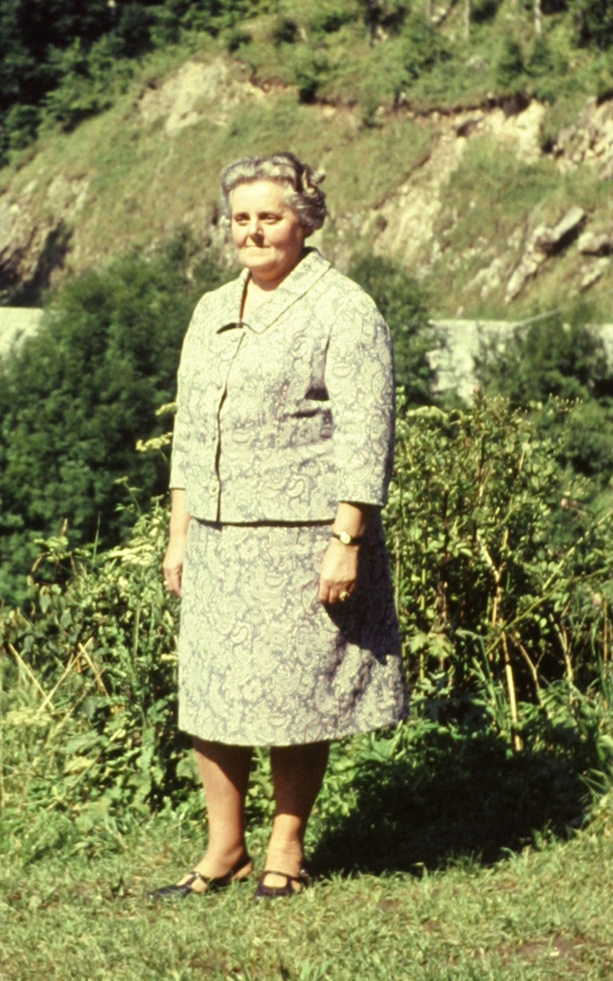 'Tante Anni' in späteren Jahren.