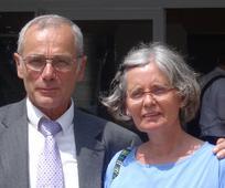 Margarethe und Alfred Zorn aus der Gemeinde Graz. (Foto: © 2014 Intellectual Reserve, Inc.)