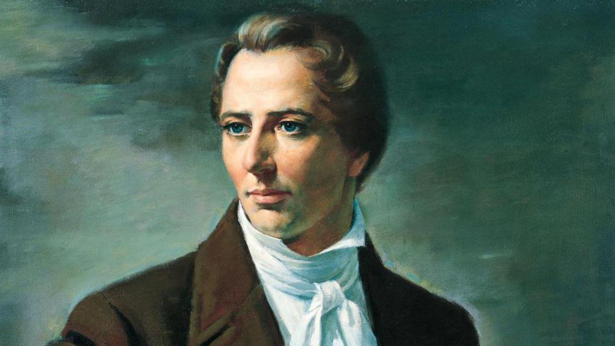 Der erste Prophet der Kirche Joseph Smith (1805-1844)