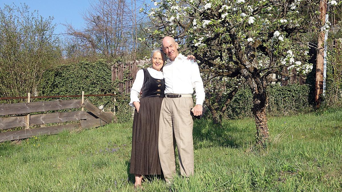 Der Autor dieses Beitrags, Bruder Tschiesche lebt mit seiner Frau Roswitha in der Weststeiermark