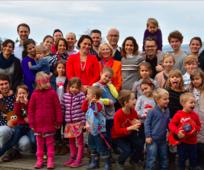 Familie Roth aus Luzern, Weihnachten 2019