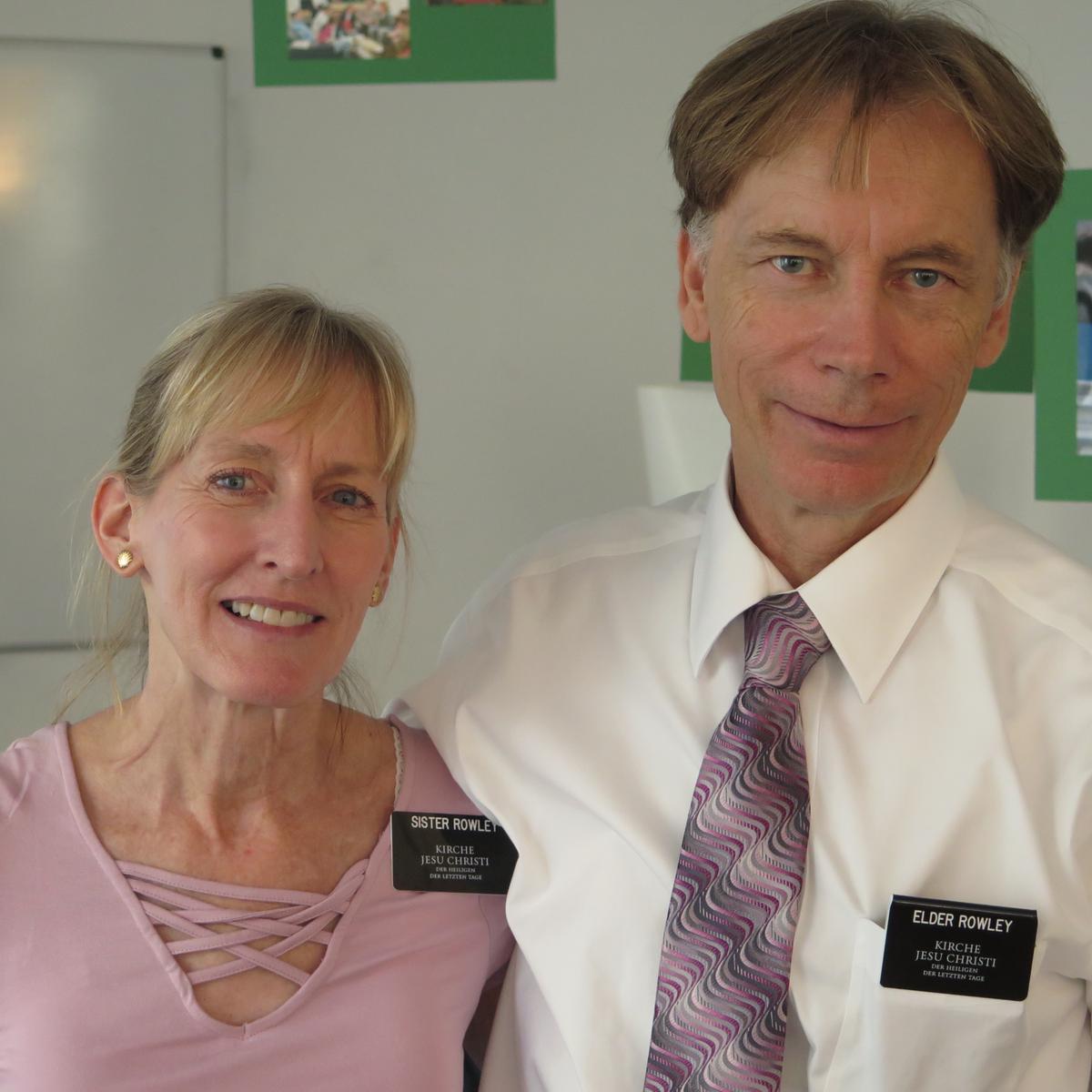 Betreut wird das Wiener Institutszentrum derzeit vom Ehepaar Rowley aus Kalifornien.