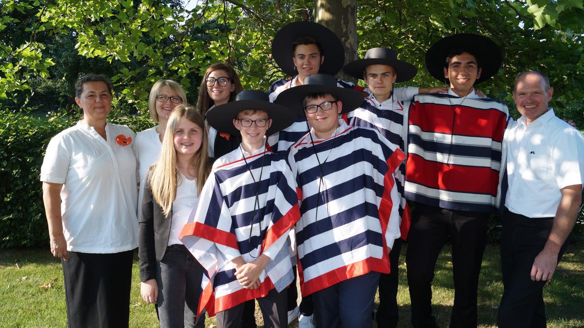 Jugendliche der Gemeinde Haag